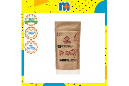 [MPLUS] Pristine Food Farm Organic Raw Red Maca Powder 200Gm
